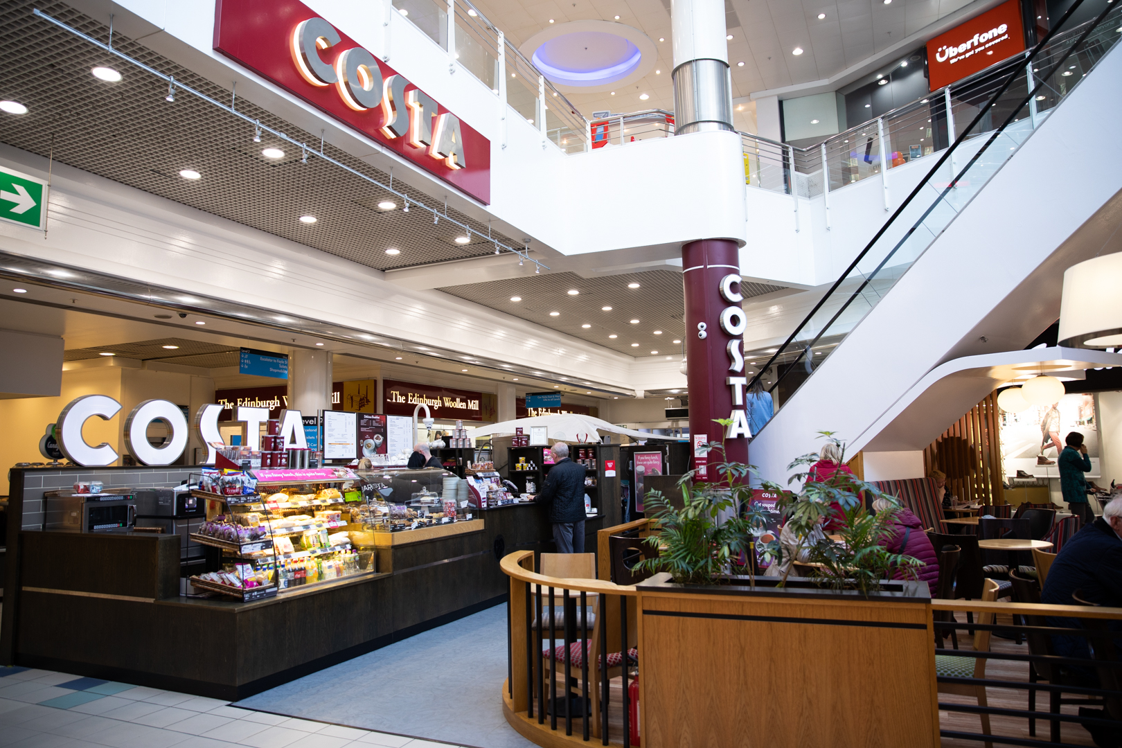 Foyleside Costa Coffee Foyleside